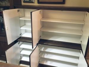 オーダー 造作 注文 家具 神戸 大阪 収納 食器棚 カップボード