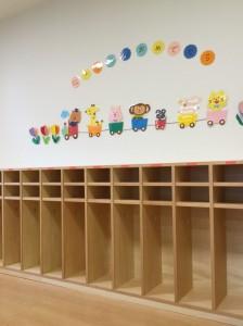 オーダー家具 大阪 神戸 保育園 園児ロッカー ロッカー 学校