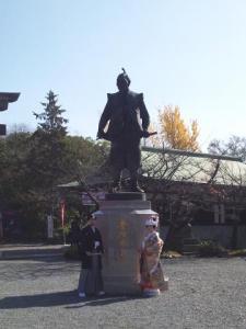 大阪城で和装ロケーション
