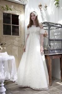 二次会衣装ウェディングドレス