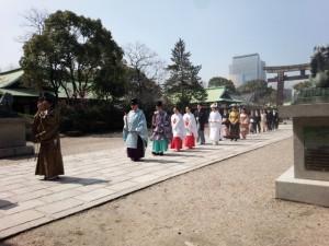 豊国神社挙式