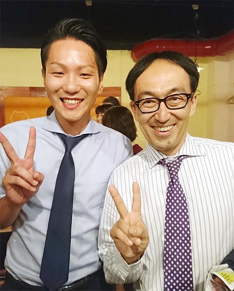 小林社長と記念撮影