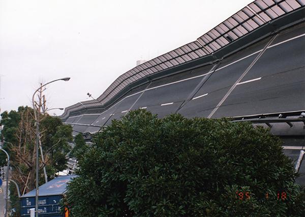 阪神淡路大震災高速道路