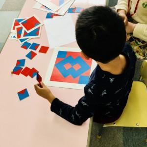 子どもたちが大好きな図形パズル