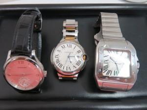 カルティエ・ショパール紳士時計をお買取りさせて頂きました。