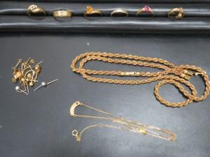 貴金属リング、ネックレスをお買取りさせて頂きました。