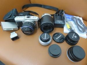 オリンパス一眼レフカメラ・レンズ 等々をお買取りさせて頂きました。