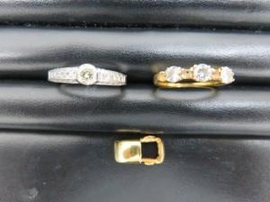 ダイヤモンドリングをお買取りさせて頂きました。