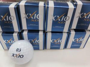 未使用品のゴルフボールを500個お買取りさせて頂きました。