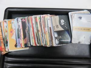 テレホンカードをお持ち頂きました。