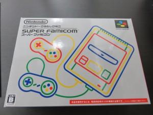 限定任天堂クラシックミニ 懐かしのスーパーファミコンをお買取りさせて頂きました。