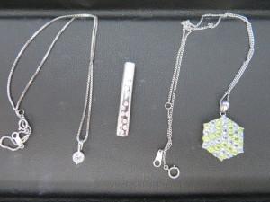 貴金属プラチナネックレス・ダイヤモンドのお買取りをさせて頂きました。