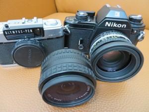 古いフイルムカメラをお買取りさせて頂きました。