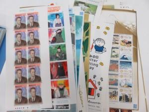 沢山の切手シートをお買取りさせて頂きました。