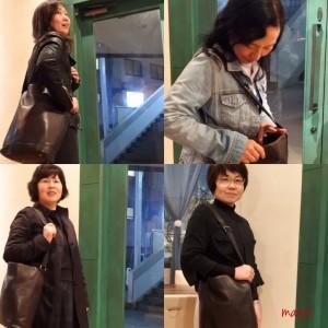 働く女性 上質な本革バッグを持つ姿
