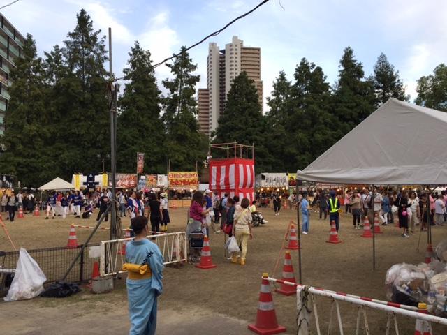 尼崎市民まつり盆踊り会場