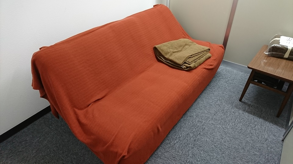 仮眠部屋②