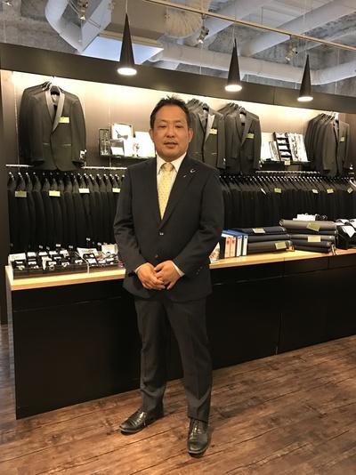 武将 石田三成オーダースーツ大阪