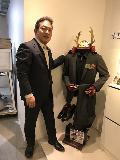 武将オーダースーツ大阪 梅田