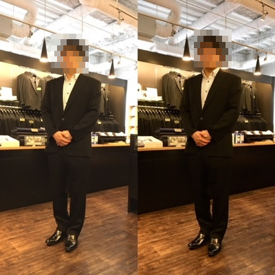 #メンズオーダーフォーマル専門店の礼服大阪梅田