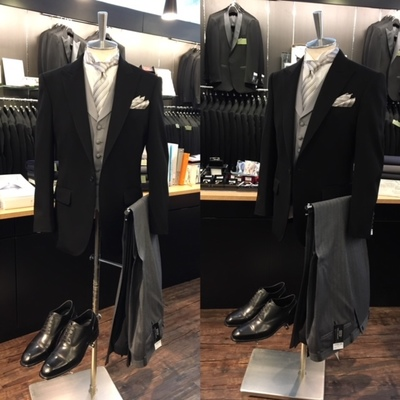 結婚式の父親や上司の礼服ディレクターズスーツ
