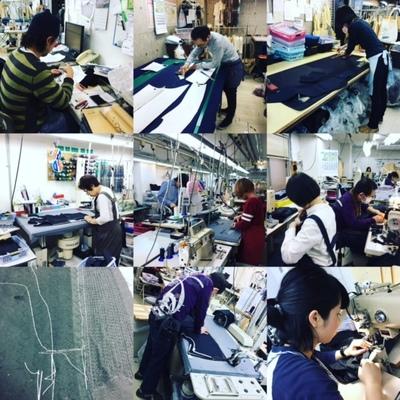 ノービアノービオ大阪梅田の縫製工場職人