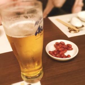 20150106 営業部 新年宴会 まずはビールで