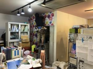 事務所内装工事 20180811_11