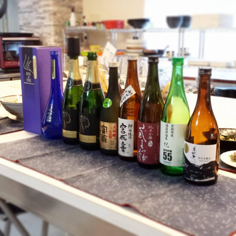 日本酒の会×料理教室 大阪 梅田