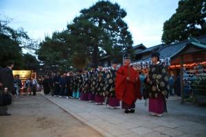 品川神社、例大祭