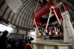 MOA Telescope in dome at Mt John Observatory (1000x667)