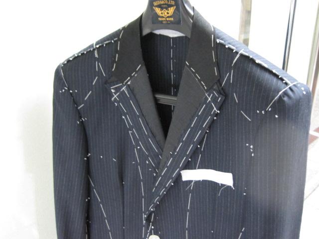 K・T様 ゼニア・プレミアムカシミヤ100%仮縫い