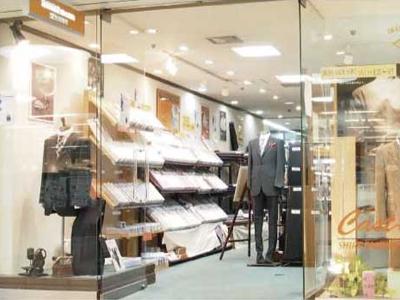 オーダースーツを国内縫製工場直売の卸価格で販売 ゼニア・カノニコ・ロロピアーナ 池田商店・大阪本町