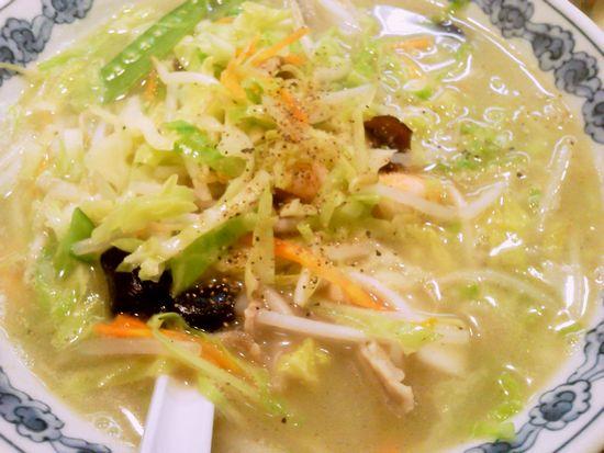江戸堀「らーめん わんや」野菜タンメン