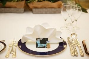 結婚式の席札を手作り
