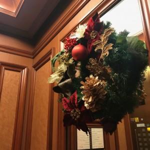 クリスマスの装飾でいっぱいに…♪