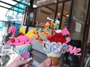 Bistopping地下新沙(シンサ)駅カロスキルのアイスクリームショップ