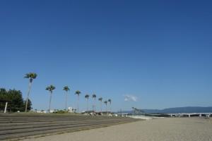 ハワイのようなビーチ