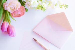 結婚式の花嫁の手紙文章量