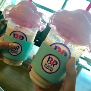 韓国仁川国際空港内31(サーティーワン)アイスクリーム