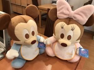 ブライダルYASUNAGA(やすなが)大阪心斎橋店に可愛いミッキー&ミニーがやって来ました♪♪