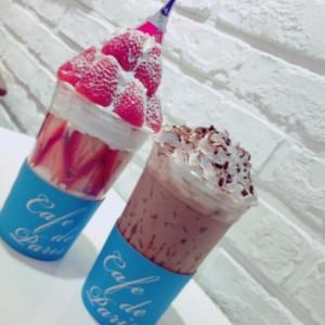 贅沢フルーツパフェが好評のCafe de paris(カフェドパリ)