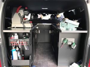 オーダー 家具 神戸 大阪 車内 収納 架装 ハイエース 店舗 什器