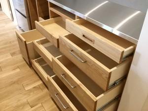 オーダー 注文 造作 家具 大阪 神戸 キッチン 食器棚 カップボード