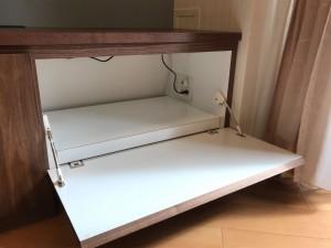 オーダー 造作 家具 大阪 神戸 テレビボード 食器 リビング 収納 ガラス
