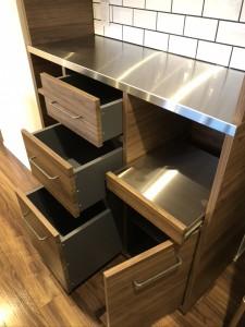 オーダー 造作 家具 大阪 神戸 キッチン 収納 カップボード 食器棚 マンション