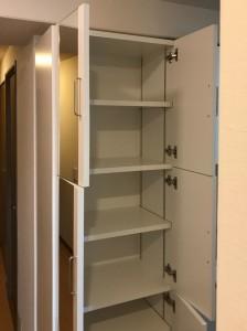 オーダー 造作 家具 大阪 神戸 収納 玄関 靴箱 ミラー付