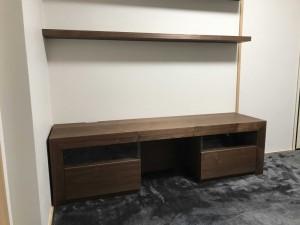 神戸 大阪 オーダー 家具 テレビボード テレビ台 棚板 収納 飾り棚