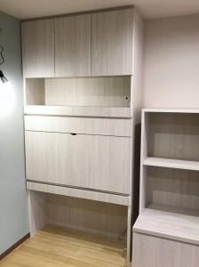 オーダー 家具 神戸 大阪 リビング 収納 デスク ライティングビューロー 机