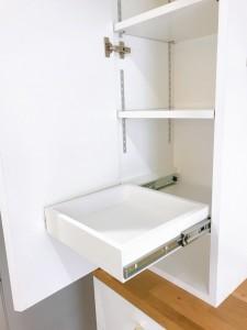 オーダー 造作 家具 大阪 神戸 キッチン 収納 カップボード 作業台 吊り収納
